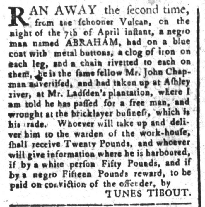 May 8 - South-Carolina and American General Gazette Slavery 7