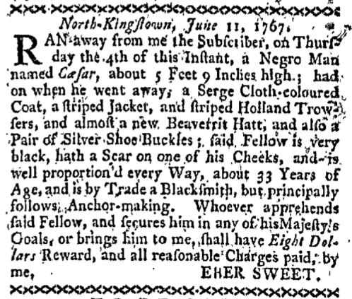 Jun 15 - Boston-Gazette Slavery 1