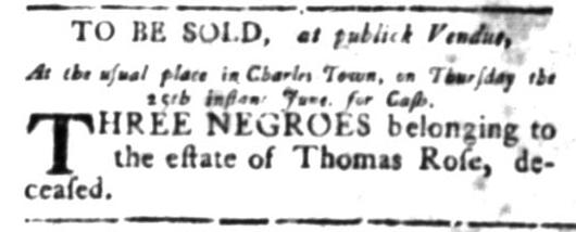 Jun 15 - South Carolina Gazette Slavery 5
