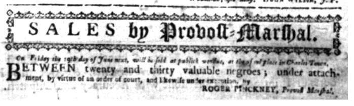Jun 15 - South Carolina Gazette Slavery 6