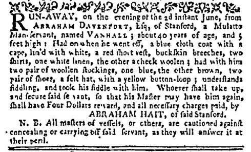 Jun 22 - New-York Mercury Supplement Slavery 1