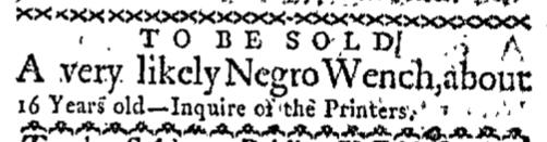 Jun 29 - Boston-Gazette Slavery 1