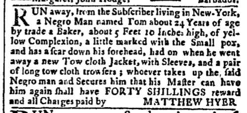Aug 3 - New-York Gazette Slavery 3