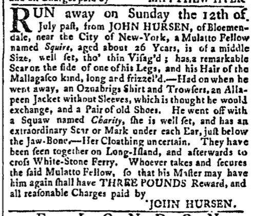 Aug 3 - New-York Gazette Slavery 4