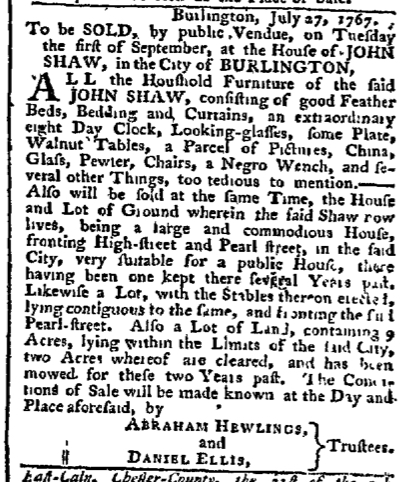 Aug 3 - Pennsylvania Chronicle Slavery 1