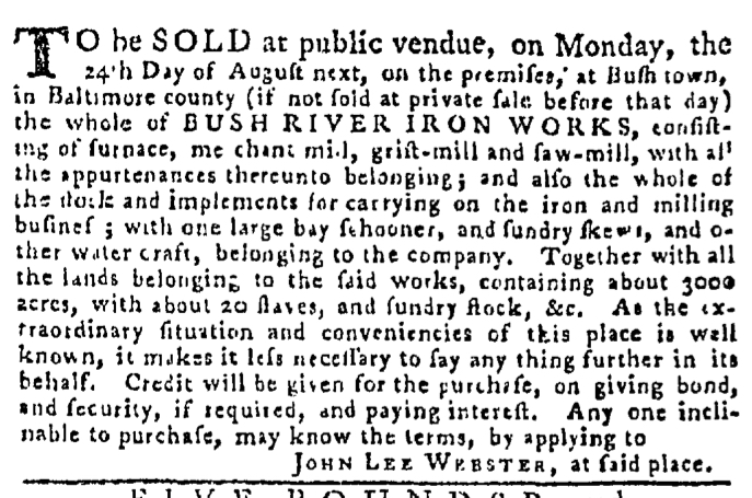 Jul 23 - Pennsylvania Gazette Slavery 3