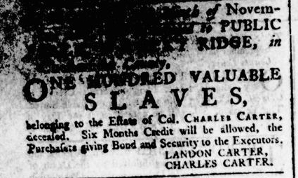 Jul 23 - Virginia Gazette Rind Slavery 4