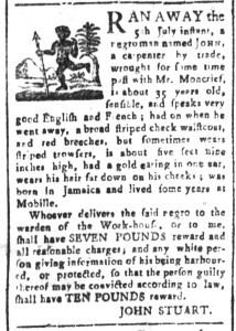 Jul 24 - South-Carolina and American General Gazette Slavery 9