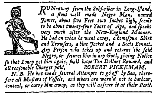 Jul 30 - New-York Journal Slavery 1