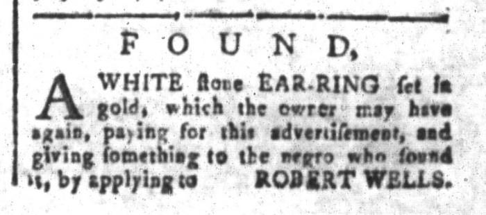 Jul 31 - South-Carolina and American General Gazette Slavery 6
