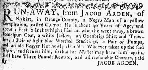 Aug 17 - New-York Mercury Supplement Slavery 2