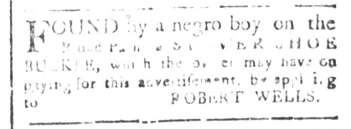 Aug 21 - South-Carolina and American General Gazette Slavery 1