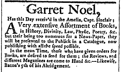 Aug 23 - 8:17:1767 New York Gazette