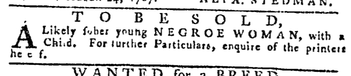 Aug 27 - Pennsylvania Gazette Slavery 2