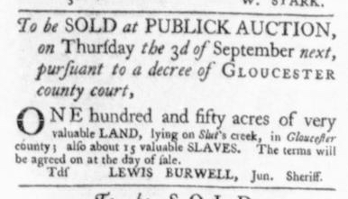 Aug 27 - Virginia Gazette Slavery 6