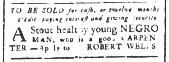 Aug 28 - South-Carolina and American General Gazette Slavery 2