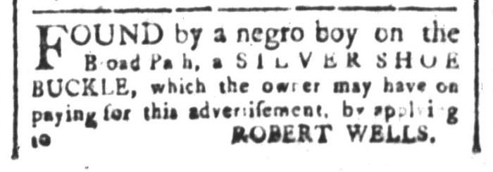 Aug 28 - South-Carolina and American General Gazette Slavery 3