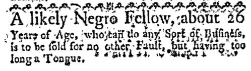 Aug 31 - Boston-Gazette Slavery 2