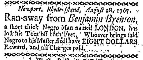 Sep 14 - Boston-Gazette Slavery 1