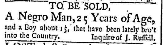 Sep 14 - Boston Post-Boy Slavery 1