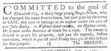 Sep 17 - Virginia Gazette Slavery 2
