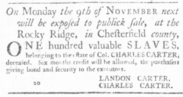 Sep 17 - Virginia Gazette Slavery 6