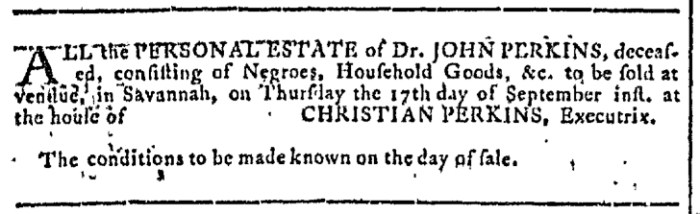 Sep 2 - Georgia Gazette Slavery 5