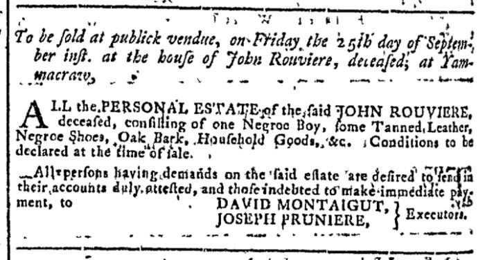 Sep 2 - Georgia Gazette Slavery 6