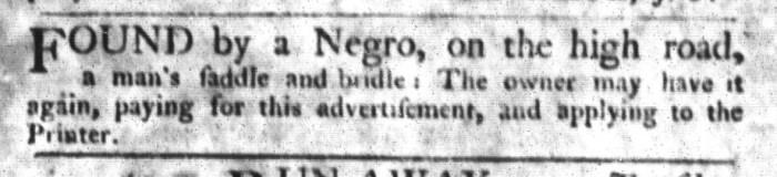 Sep 22 - South-Carolina Gazette and Country Journal Slavery 5