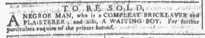 Sep 23 - Georgia Gazette Slavery 3