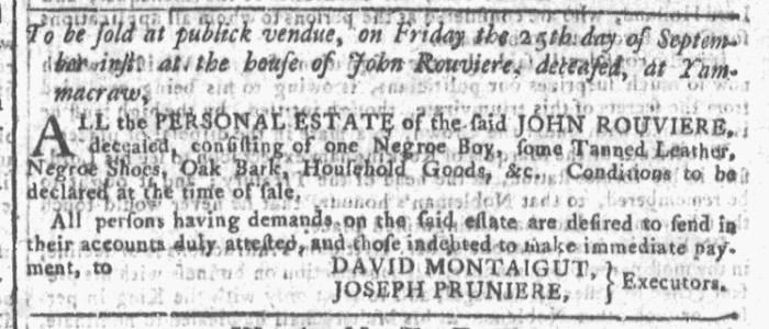Sep 23 - Georgia Gazette Slavery 8
