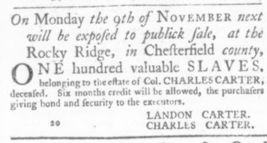 Sep 24 - Virginia Gazette Slavery 8