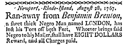 Sep 28 - Boston-Gazette Slavery 1