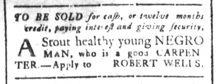 Sep 4 - South-Carolina and American General Gazette Slavery 3