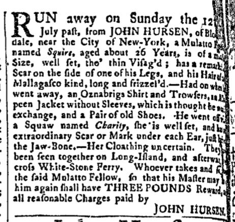Sep 7 - New-York Gazette Slavery 2