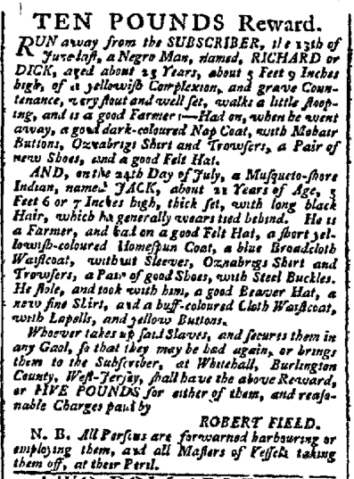 Sep 7 - Pennsylvania Chronicle Slavery 3