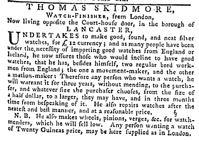 Sep 24 - 9:24:1767 Pennsylvania Gazette