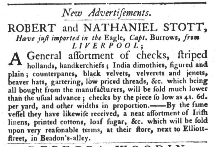 Sep 8 - 9:8:1767 South-Carolina Gazette and Country Journal