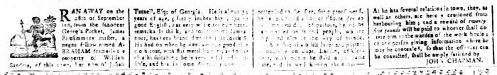 Nov 13 - South-Carolina and American General Gazette Slavery 7