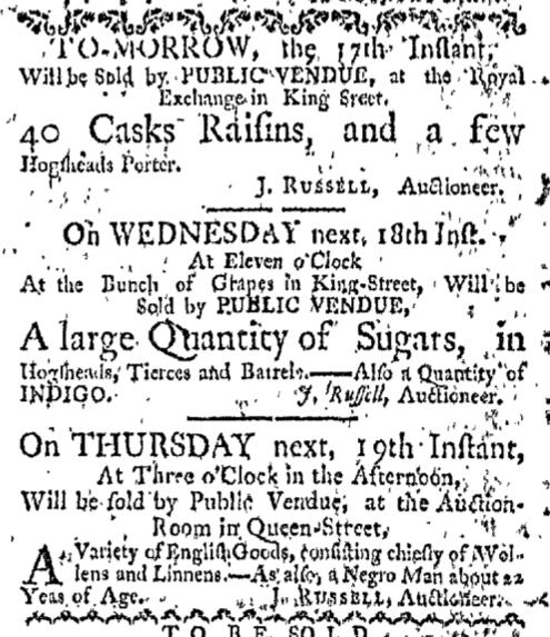 Nov 16 - Boston-Gazette Slavery 1