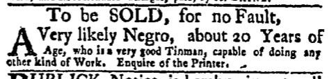 Nov 16 - New-York Mercury Slavery 1