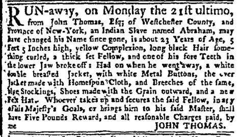 Nov 16 - New-York Mercury Supplement Slavery 1
