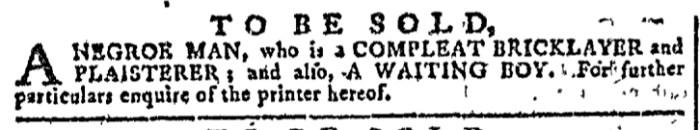 Nov 4 - Georgia Gazette Slavery 3