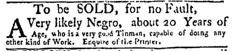 Nov 9 - New-York Mercury Slavery 1