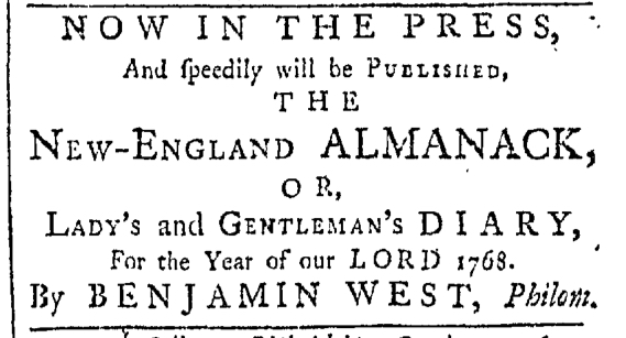 Oct 17 - 10:17:1767 Providence Gazette
