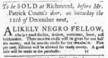 Oct 29 - Virginia Gazette Slavery 5