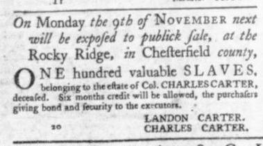 Oct 29 - Virginia Gazette Slavery 8