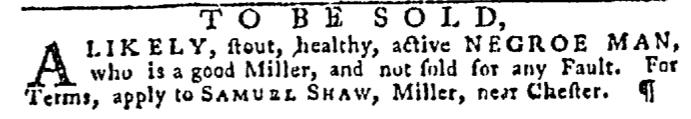 Dec 10 - Pennsylvania Gazette Slavery 3