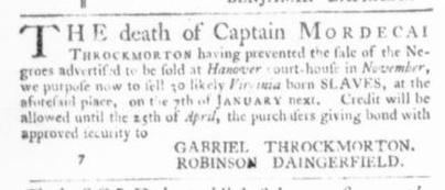 Dec 10 - Virginia Gazette Slavery 6