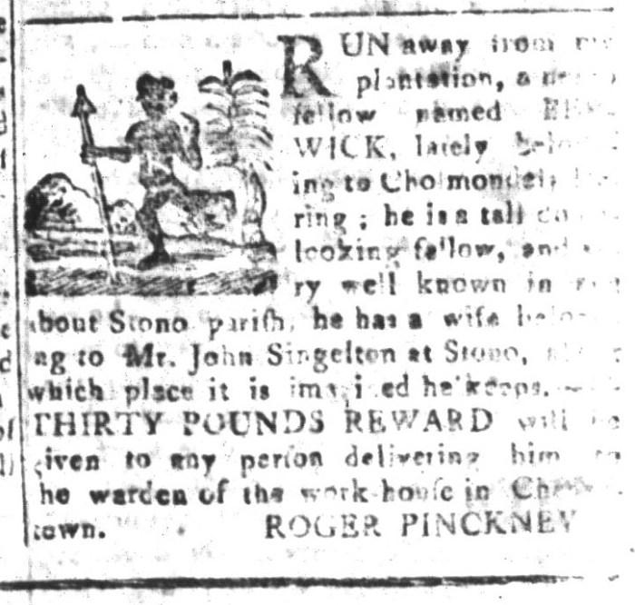 Dec 11 - South-Carolina and American General Gazette Slavery 12